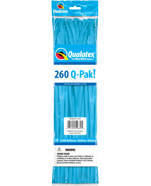 Q- Pack  260Q Robin`s Egg Blue   (50 Unid)