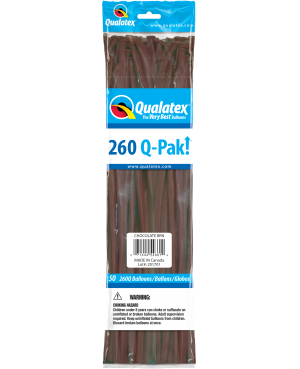 Q- Pack  260Q Chocolate Brown  (50 Unid)