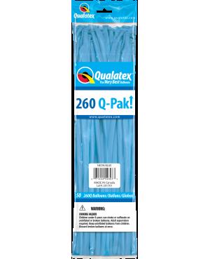 Q- Pack  260Q Neon Blue  (50 Unid)