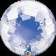 """24"""" Deco Bubble - Wrapped Presents (Minimo 3 Unid)"""