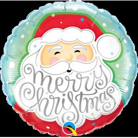 "Merry Cristmas Santa 18"" (Minimo 3 Unid)"