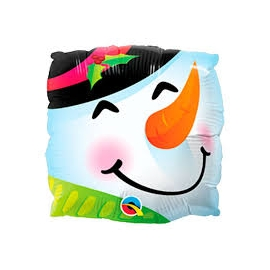 "Snowman  Fun Face 9"" Air-fill (Minimo 5 Unid)"