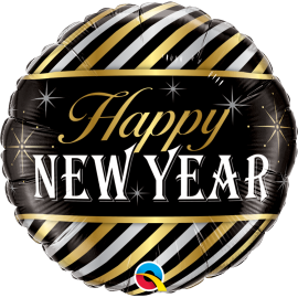 "New Year Diagonal Stripes 18"" (Minimo 3 unid)"