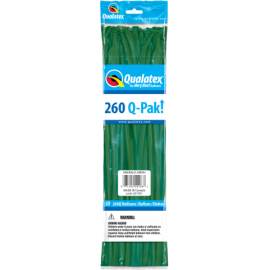 Q- Pack  260Q Emerald Green     (50 Unid)