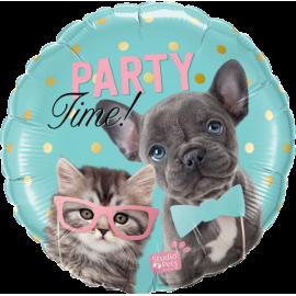 "18"" Studio Pets Party Time Pets  (Minimo 3 Unid)"