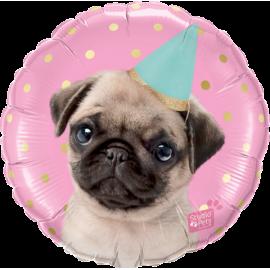 "18"" Studio Pets Party Pug   (Minimo 3 Unid)"