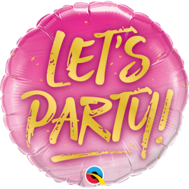 """18"""" Let´s Party (Minimo 3 Unid)"""