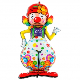 "30"" * 54"" Payaso, Party Clown (Minimo 3 Unid)"