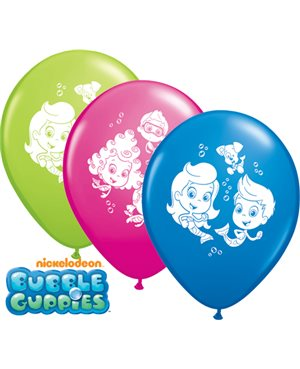 Surtido Globos Bubble Guppies