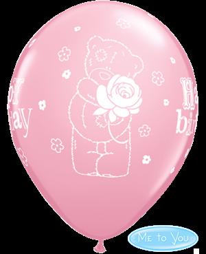 Globos Cumpleaños Tatty Teddy Rose