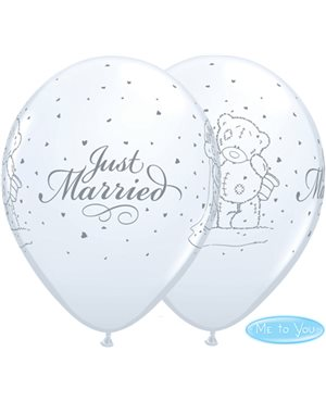 Globos Tatty Teddy Recien Casados