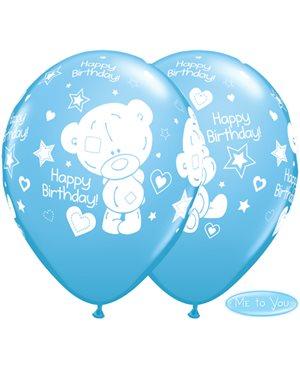 Globos Cumpleaños Tiny Tatty Teddy Azul