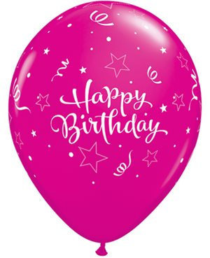 Birthday Shining Star Pink - Wild Berry