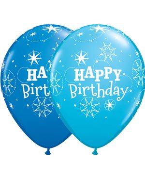 Birthday Sparkle - Dark Blue & Robin's Egg Blue