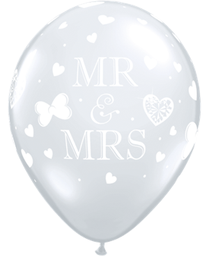 Mr. & Mrs. Diamond Clear