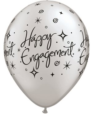 Engagement Elegant Sparkles Silver