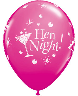 Hen Night Bubbly Wild Berry