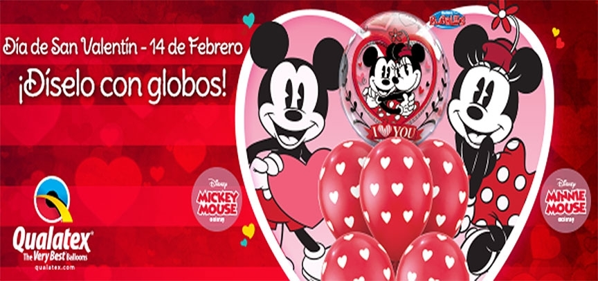 Catálogo de Globos para San Valentín