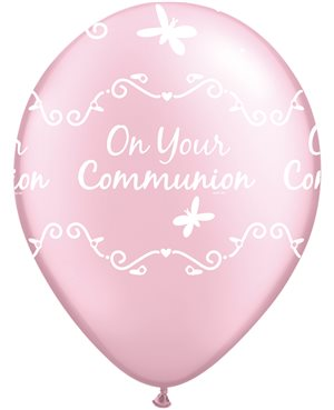 Communion Butterflies - Pearl Pink