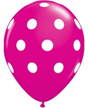 Big Polka Dots - Wild Berry
