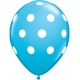 Big Pola Dots - Robin's Egg Blue