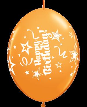 Happy Birthday Quick Link - Wild Bery, Robin's Egg Blue & Orange