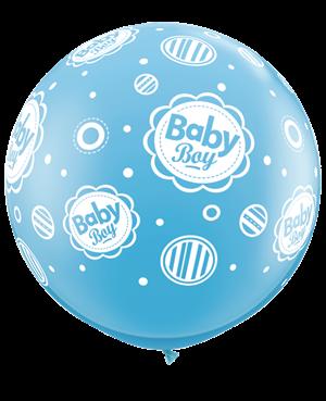 Baby Boy Dots-A-Round