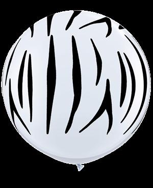 Zebra Stripes-A-Round