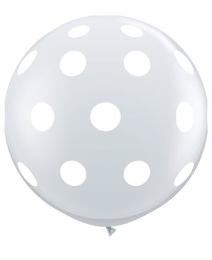 Big Polka Dots-A-Round - Diamond Clear