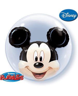 Globo Doble Bubble Mickey Mouse