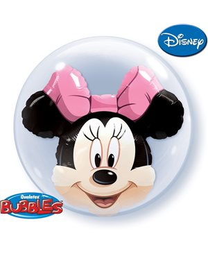 Double Bubbles Minnie Mouse
