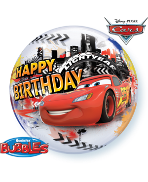 Bubbles Lightning McQueen Birthday