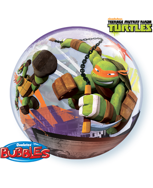 Bubbles Teenage Mutant Ninja Turtles