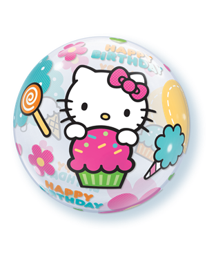 Bubbles Hello Kitty Birthday
