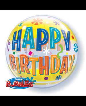 Bubbles Birthday Fun & Yellow Bands
