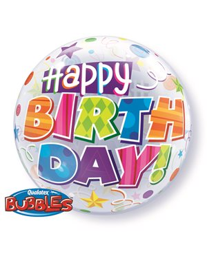 Bubbles Birthday Party Patterns