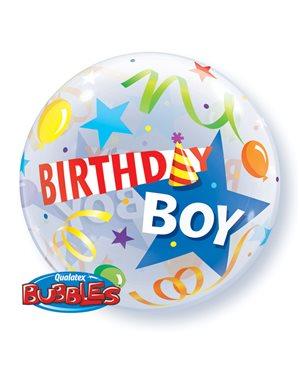 Bubbles Boy Party Hat