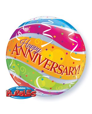 Bubbles Anniversary Colourful Bands