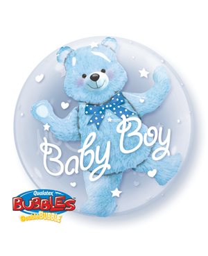 Double Bubbles Baby Blue Bear