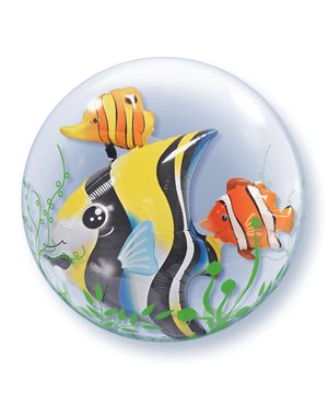 Double Bubbles Seaweed Tropical Fish