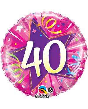 40 Shining Star Hot Pink