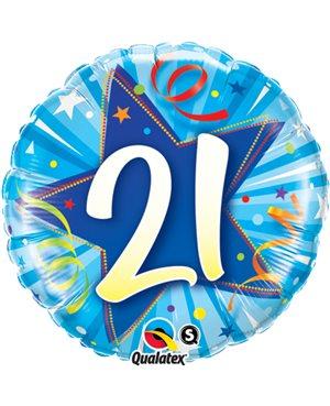 21 Shining Star Bright Blue