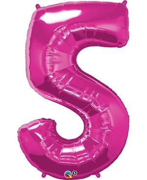 Number Five - Magenta
