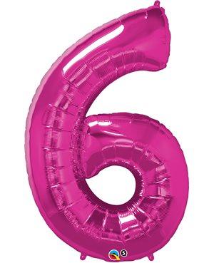 Number Six - Magenta