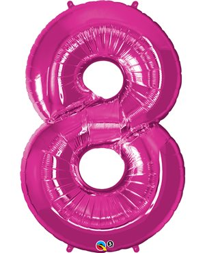 Number Eight - Magenta