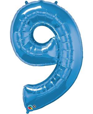 Number Nine - Sapphire Blue