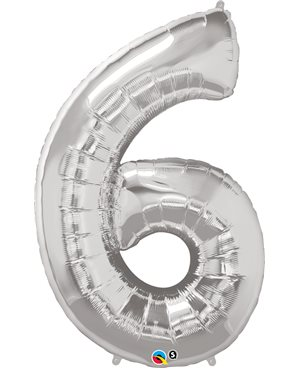 Number Six - Silver