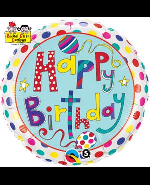 Rachel Ellen - Birthday Polka Dots & Stripes