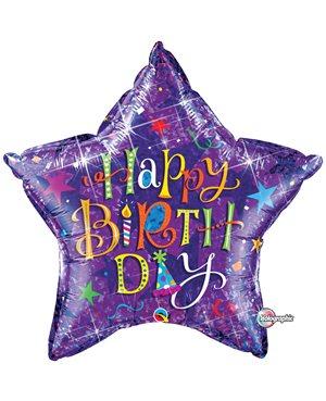 Birthday Topography Purple