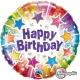 Birthday Radiant Stars